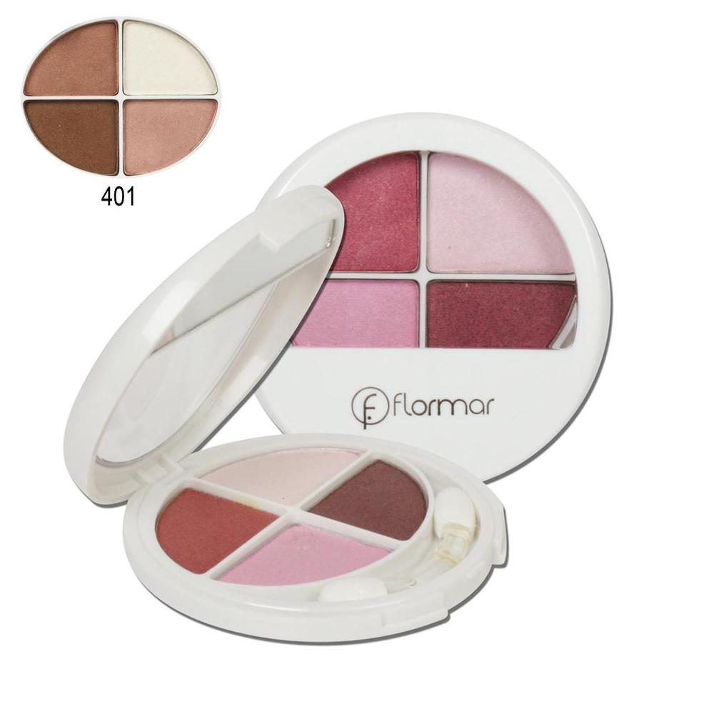 Flormar 401 Quartet Eye Shadow Far
