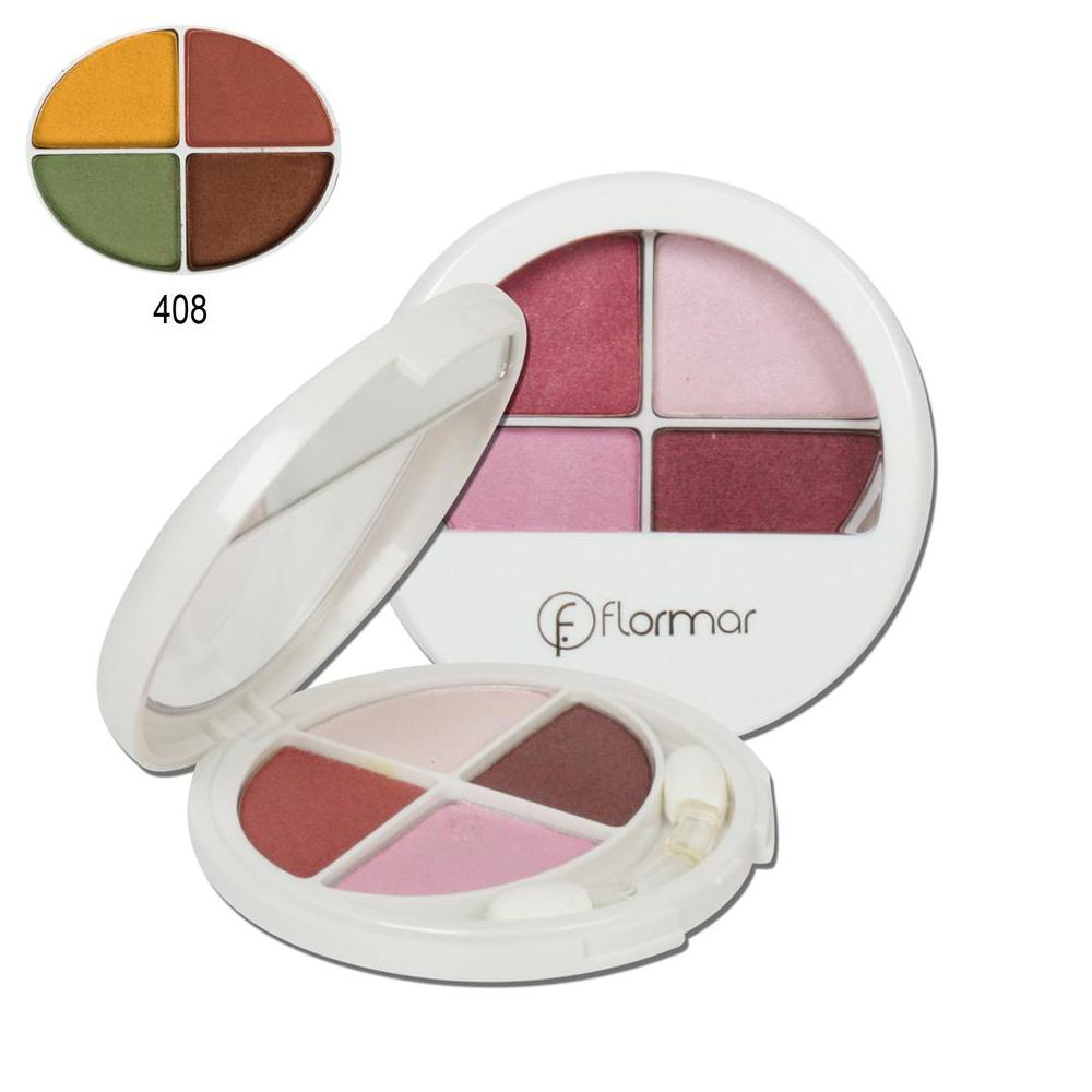 Flormar 408 Quartet Eye Shadow Far