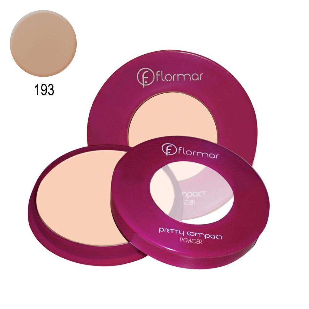 Flormar Compact Powder Pretty No:193 Pudra