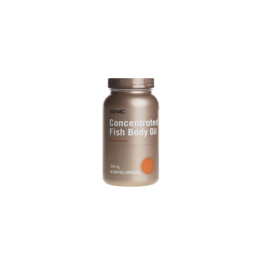 GNC Concentrated Fish Body Oil 1000 mg 90 Kapsül