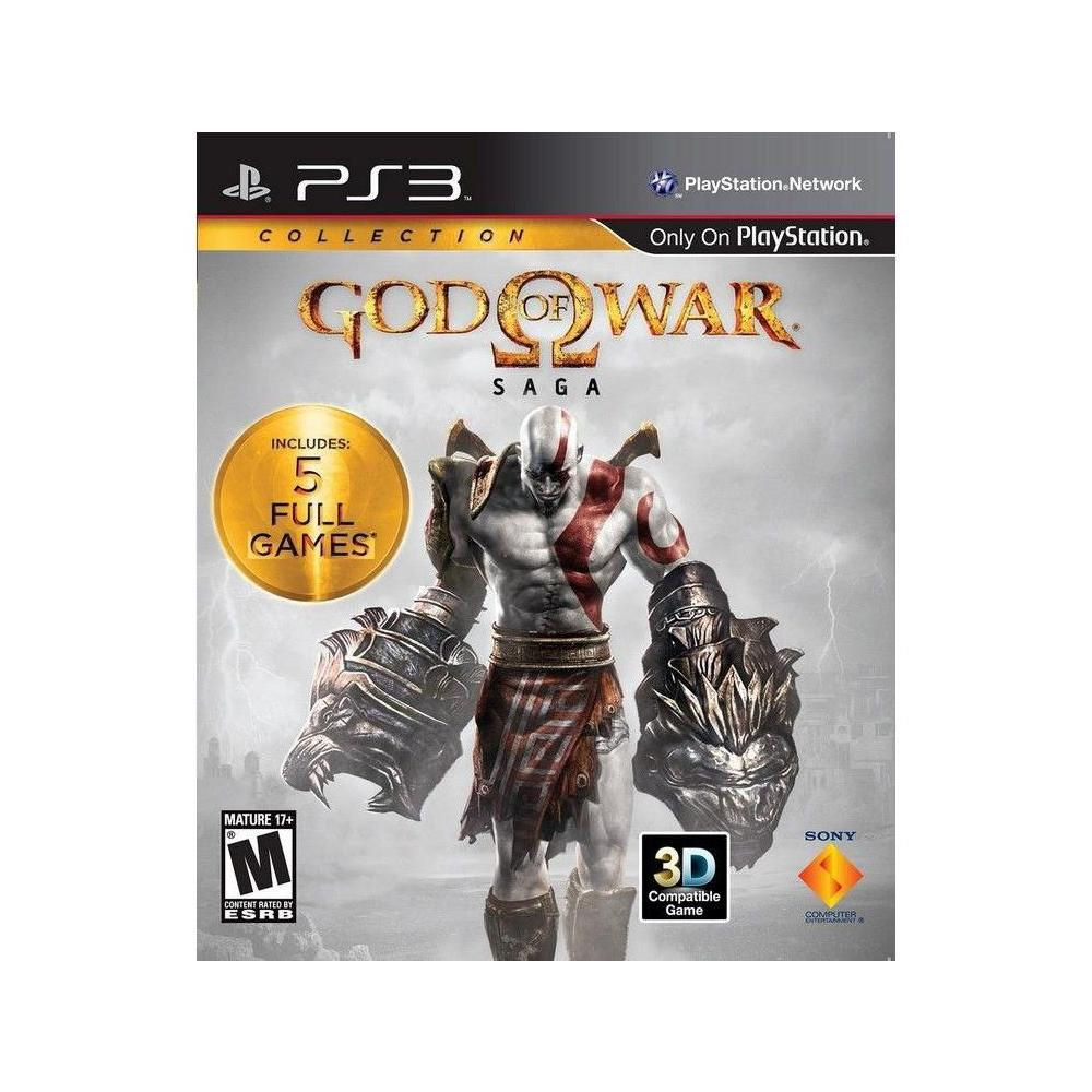 God Of War Saga Collection PS3 Oyunu