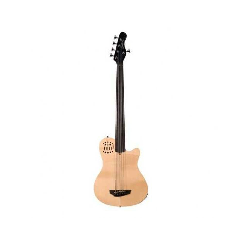 Godin A5 Fretless Natural Bass Gitar