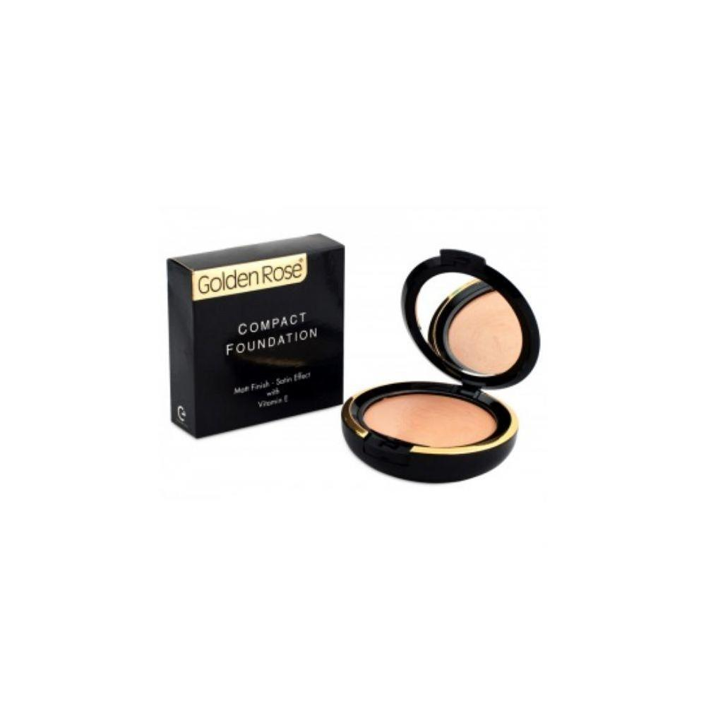 Golden Rose Compact Foundation With Vitamin E-10 Fondöten