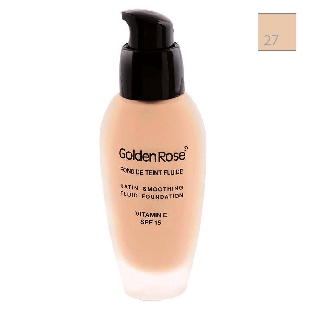 Golden Rose Satin Somoothing Fluid 27 Fondöten