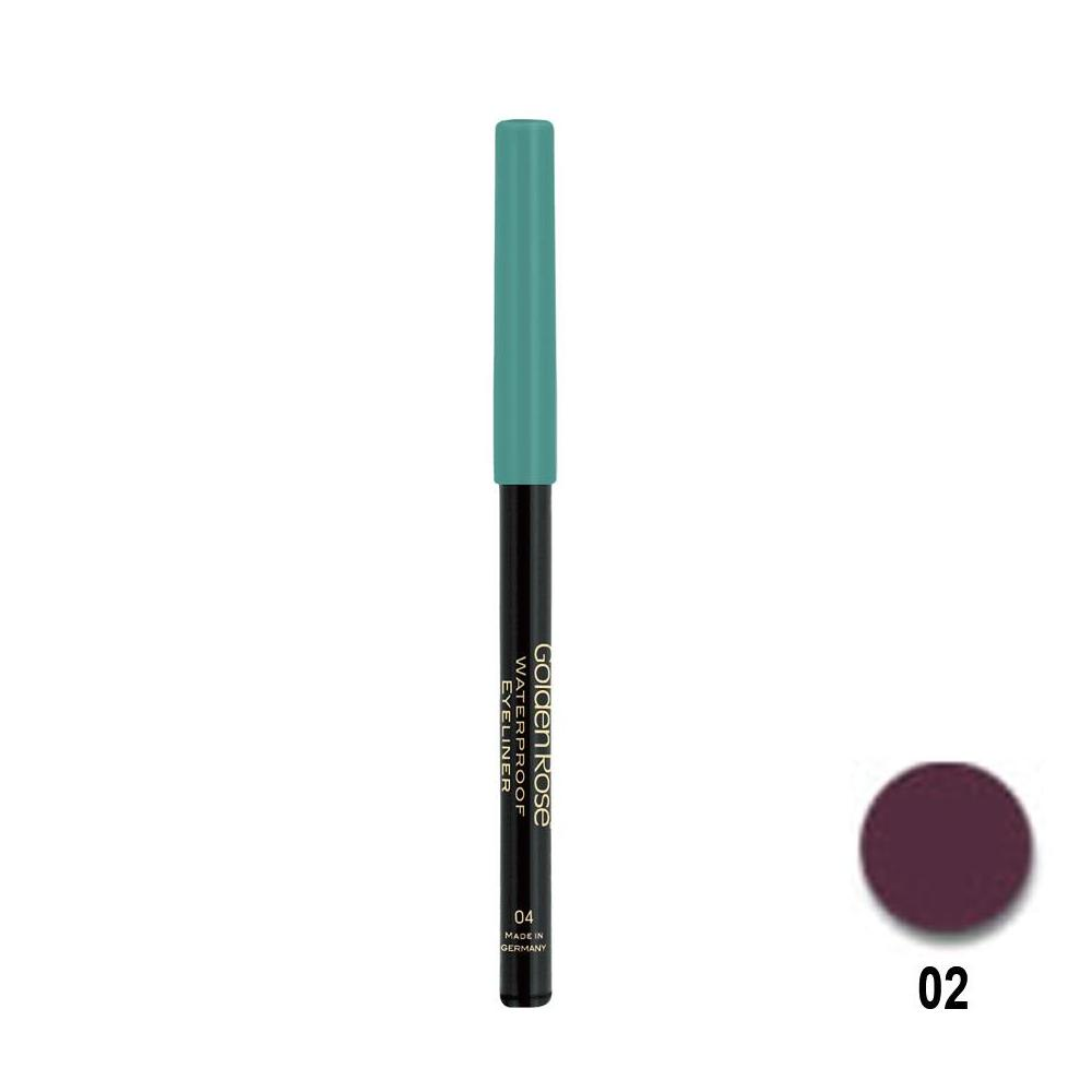 Golden Rose Waterproof 02 Automatic Eyeliner