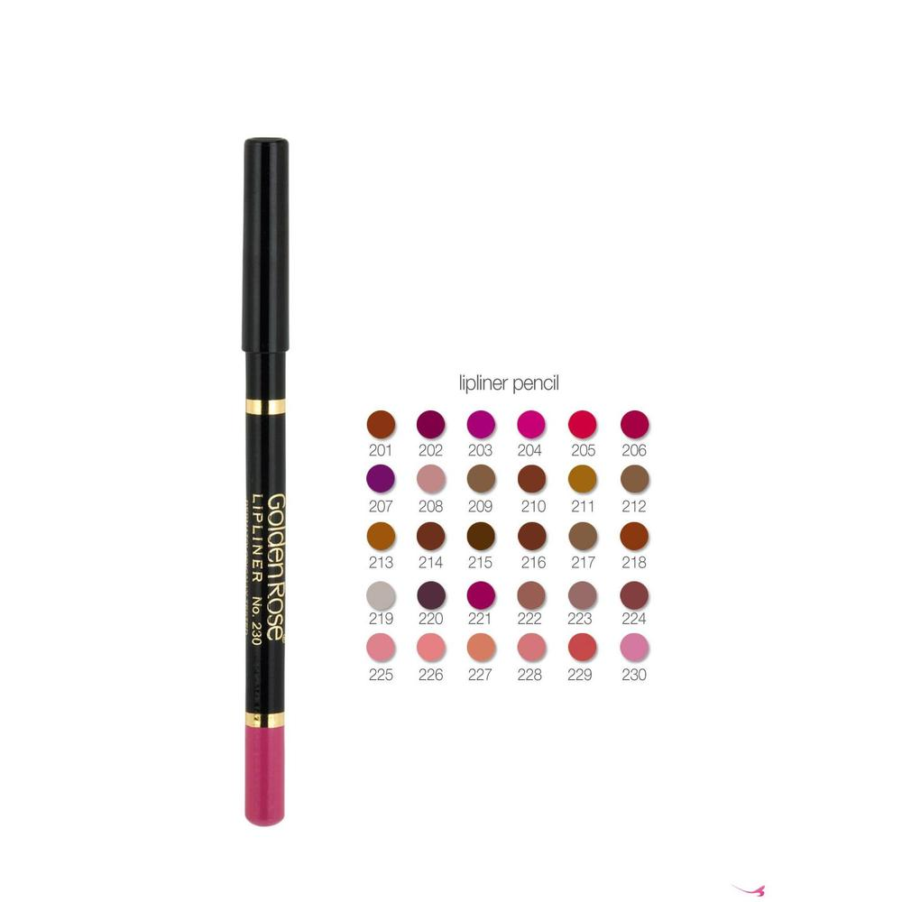 Golden Rose Waterproof Lipliner