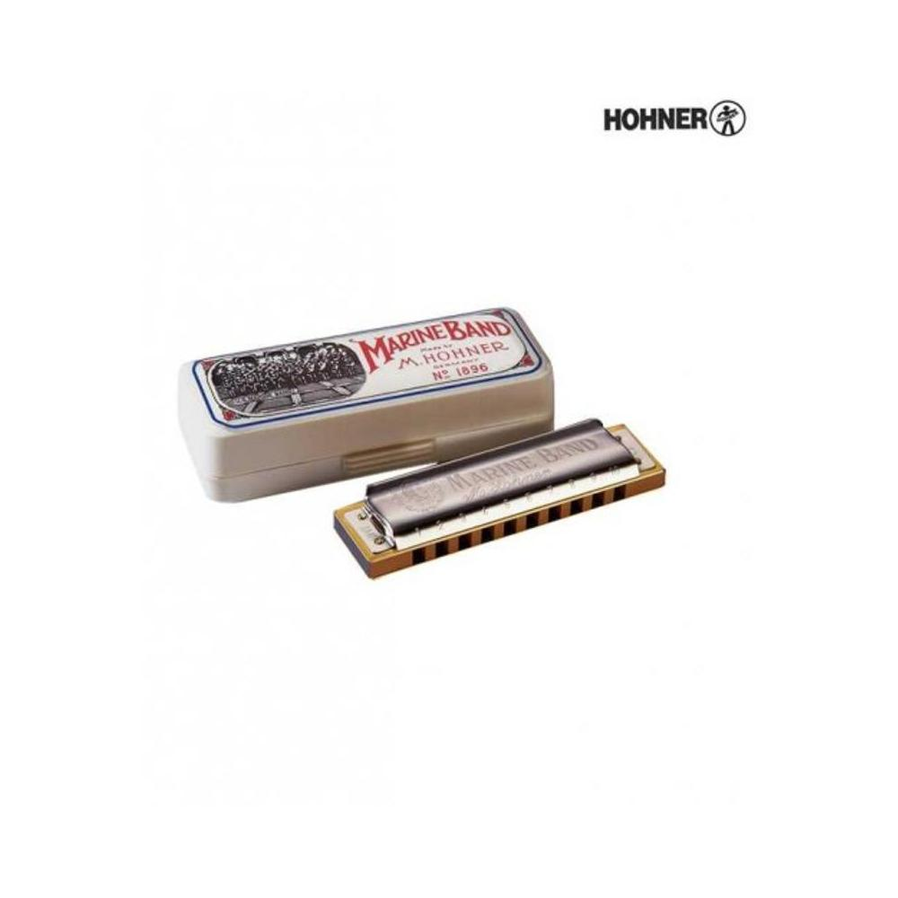 Hohner Marine Band Classic B Major Harmonika