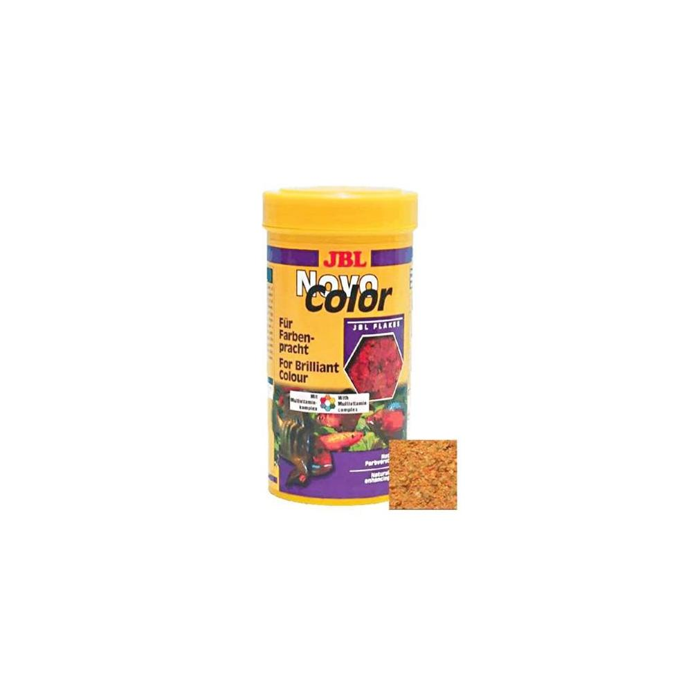 JBL Novo Color Fish Flake Food 250 ml Balık Yemi