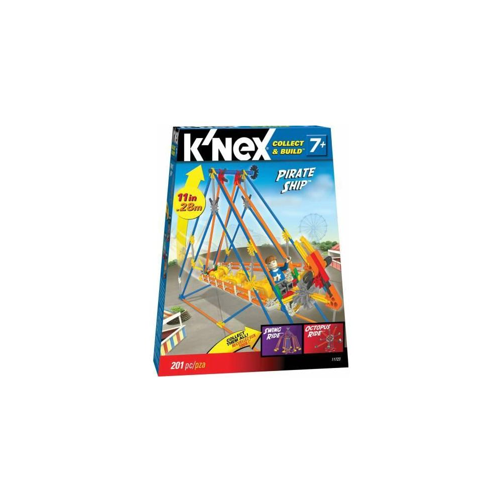 K NEX PIRATE SHIP BUILDING SET