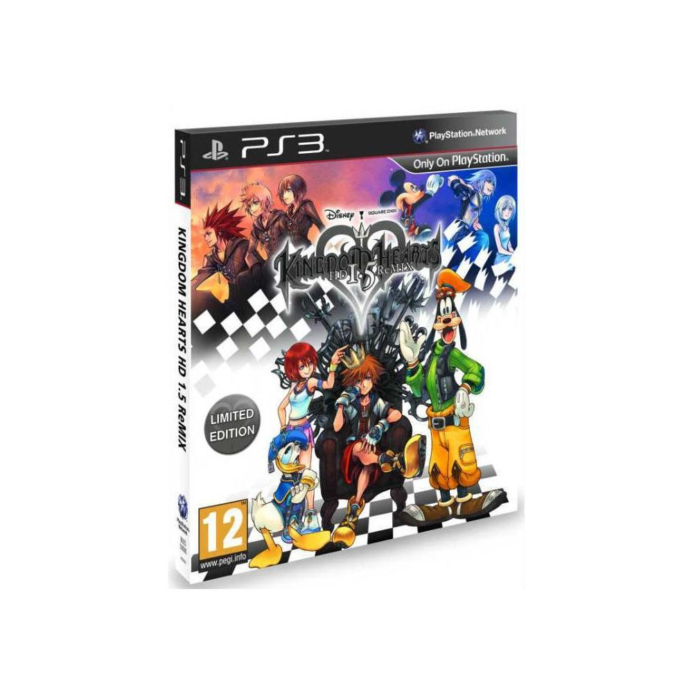 Kingdom Hearts 1 5 PS3