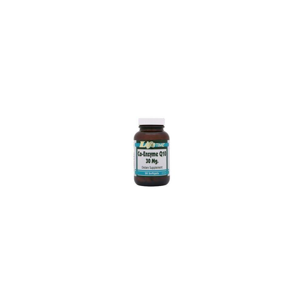 Life Time Co-Enzyme Q10 30 mg 30 Softgels