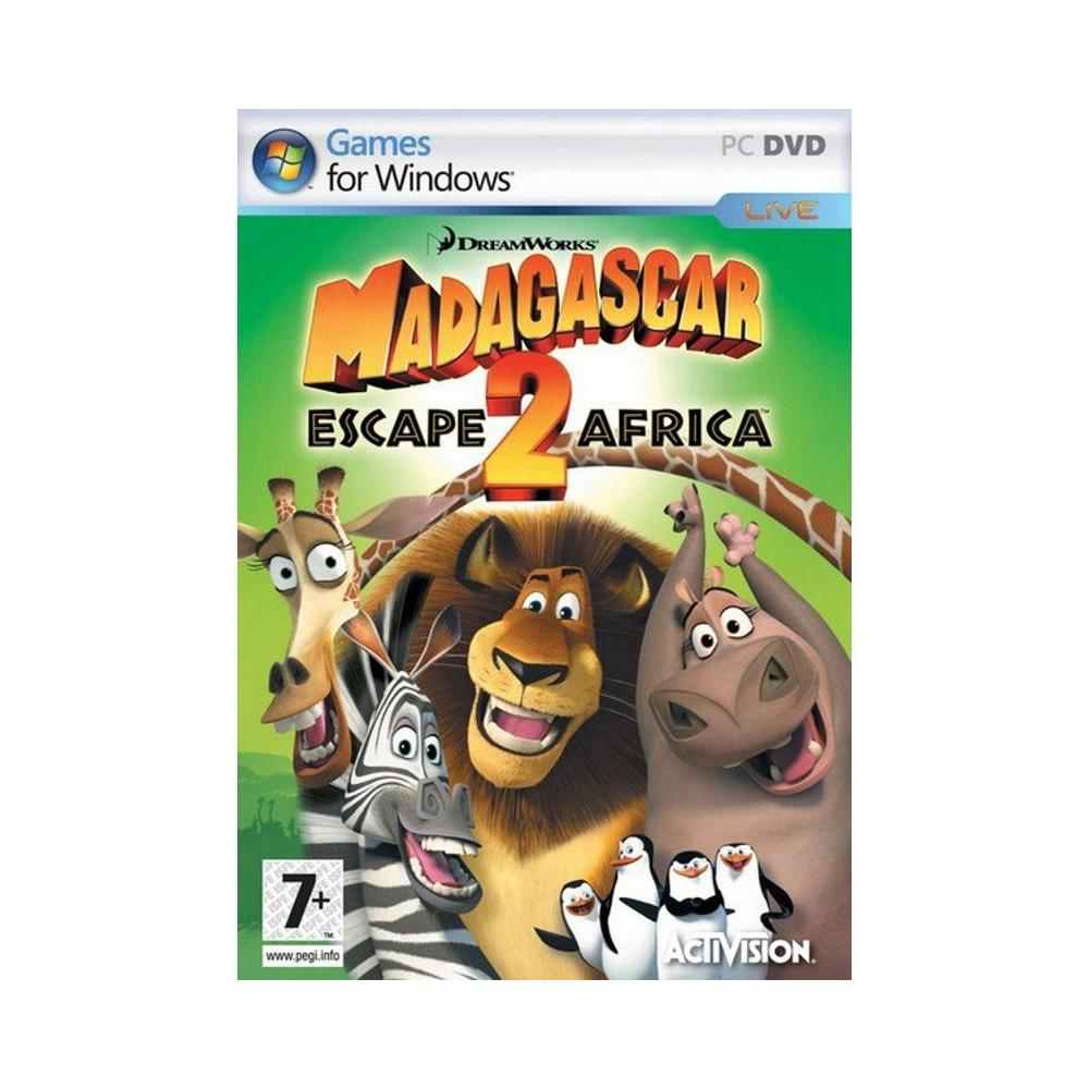 Madagascar 2 Escape Africa PC Oyunu