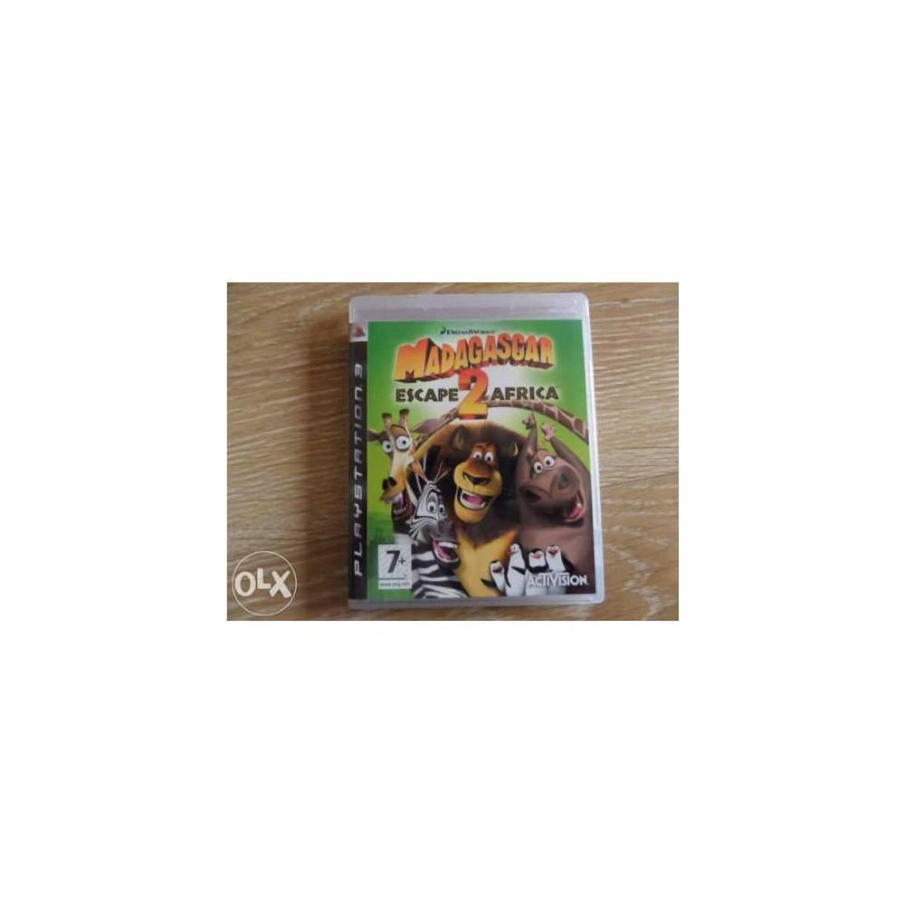 Madagascar Escape 2 Africa PS3 Oyunu