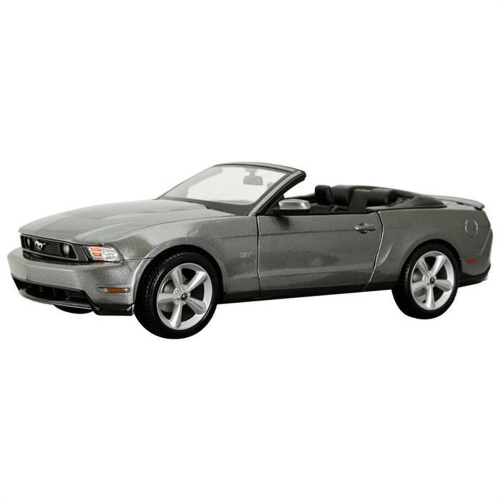Maisto 2010 Ford Mustang GT Convertible 1:18 Special Edition Gri Model Araç