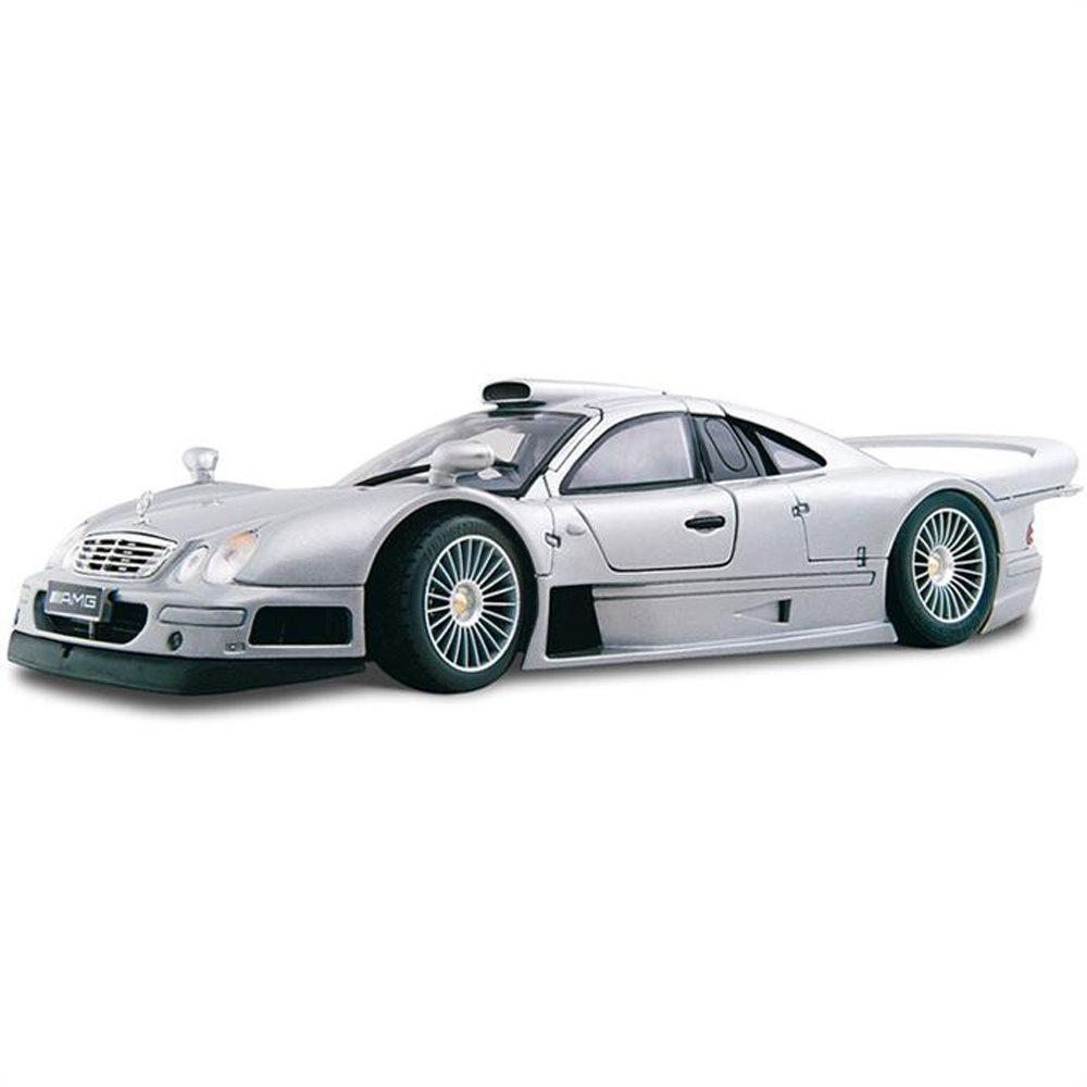 Maisto Mercedes Benz Clk GTR Street Version 1:18 Gri Model Araç