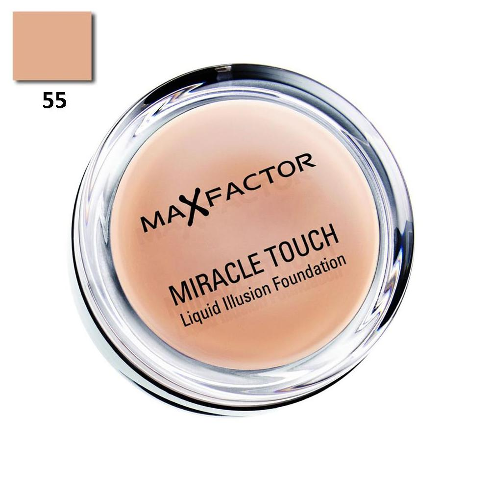 Max Factor Miracle Touch No:55 Blushing Fondöten