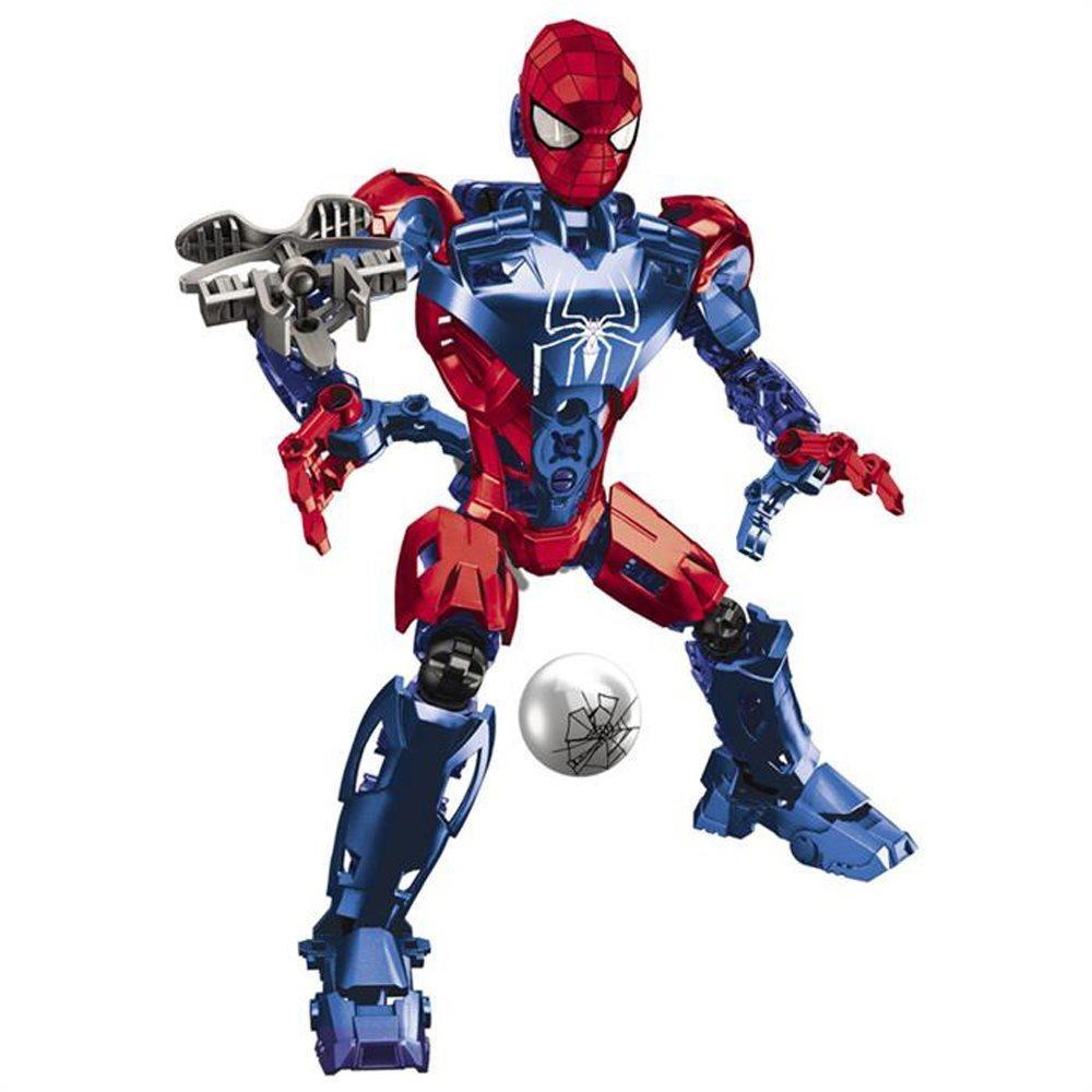 Mega Bloks The Amazing Spiderman Techbot Oyun Seti