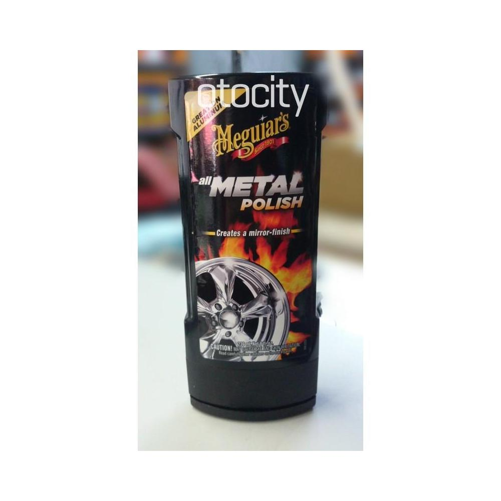 Meguiars All Metal Polish Jant Metal Cilası