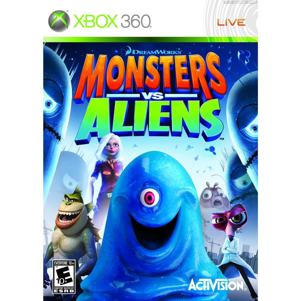 Monsters Vs Aliens Xbox