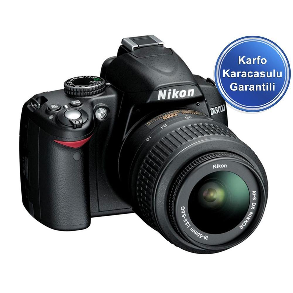 Nikon D3000 Kit 18-55mm DSLR Fotoğraf Makinesi