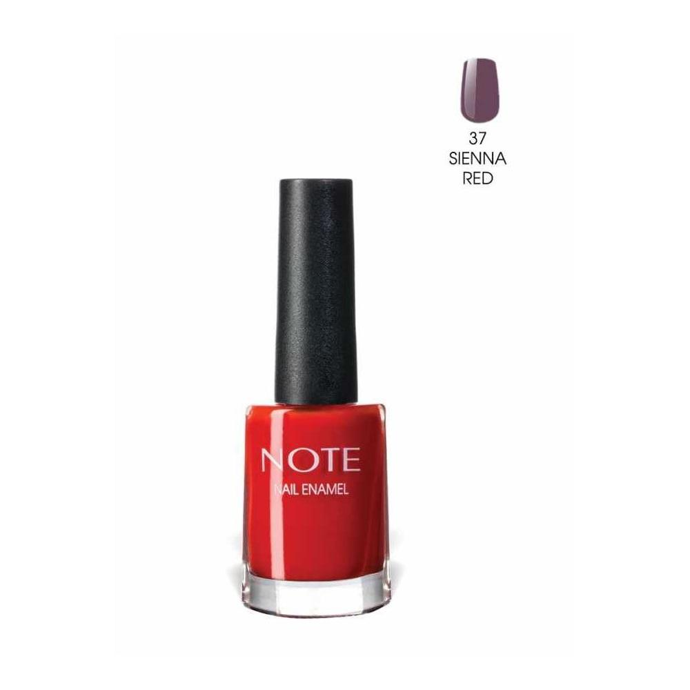 Note 37 Sienna Red Nail Enamel Oje