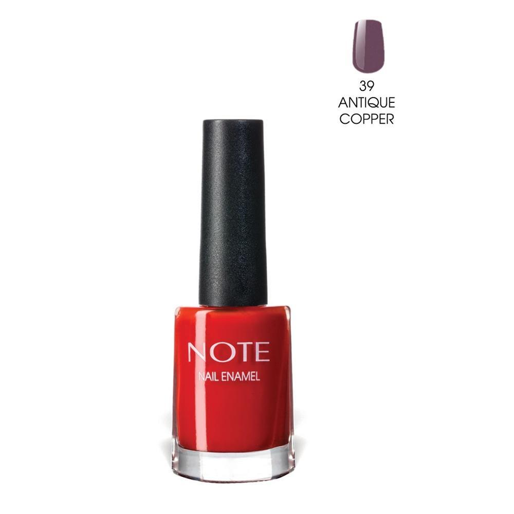 Note 39 Antique Copper Nail Enamel Oje