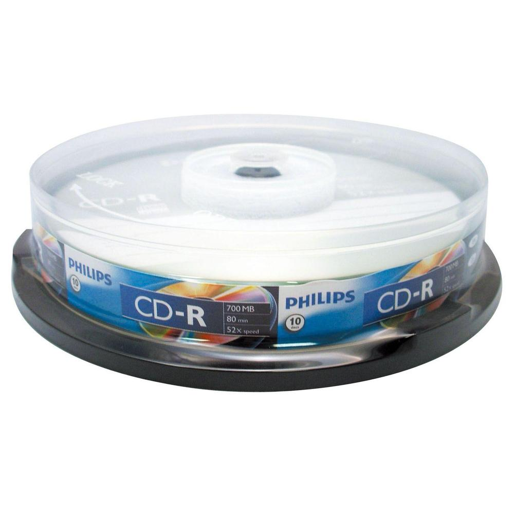 Philips 52X 700Mb 10'lu Cakebox Cd-R