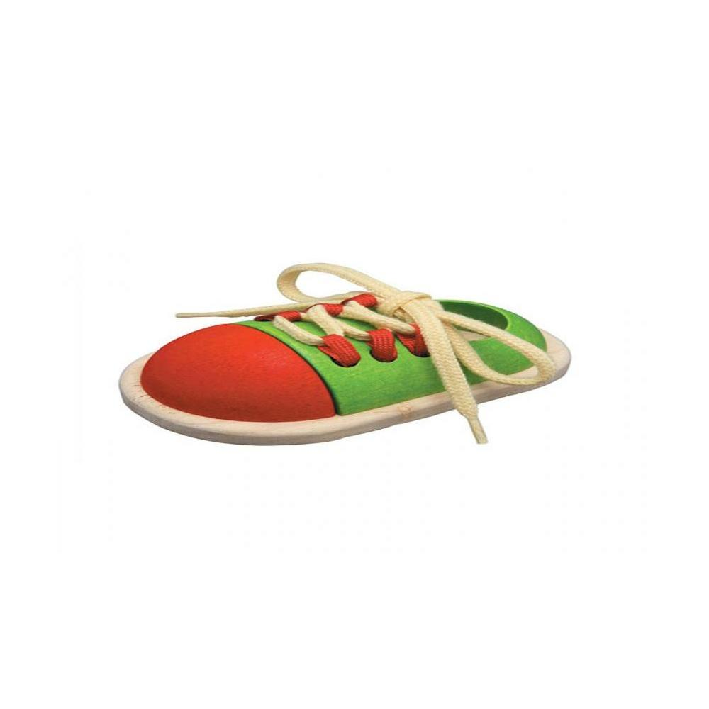 Plan Toys 5319-Tie-up Shoe