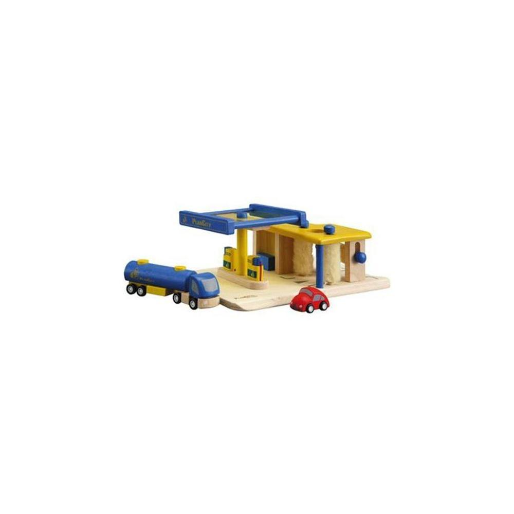 Plan Toys 60132-Gas Station