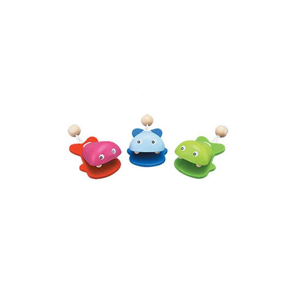 Plan Toys 6406-Fish Castanet