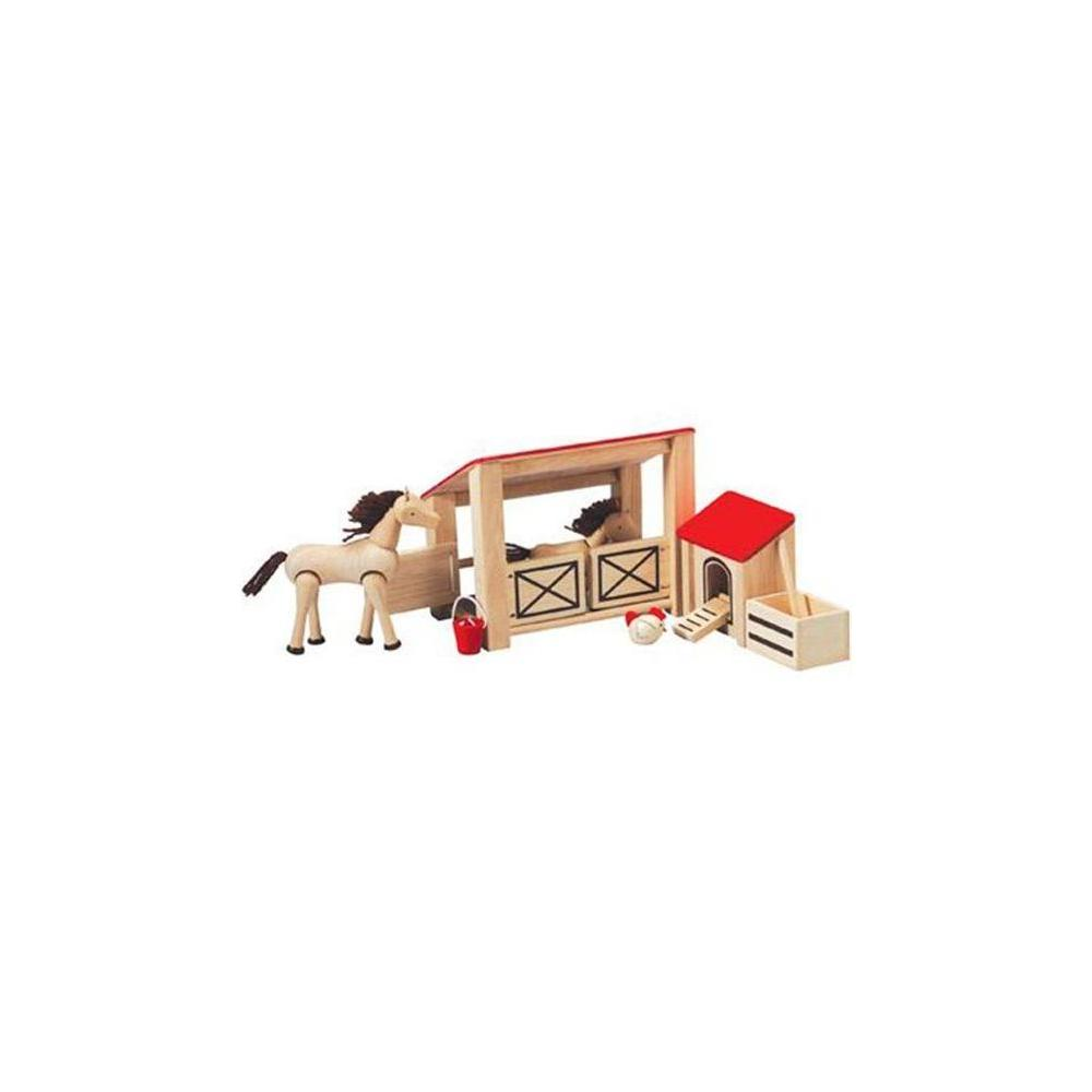 Plan Toys 7149-Stable