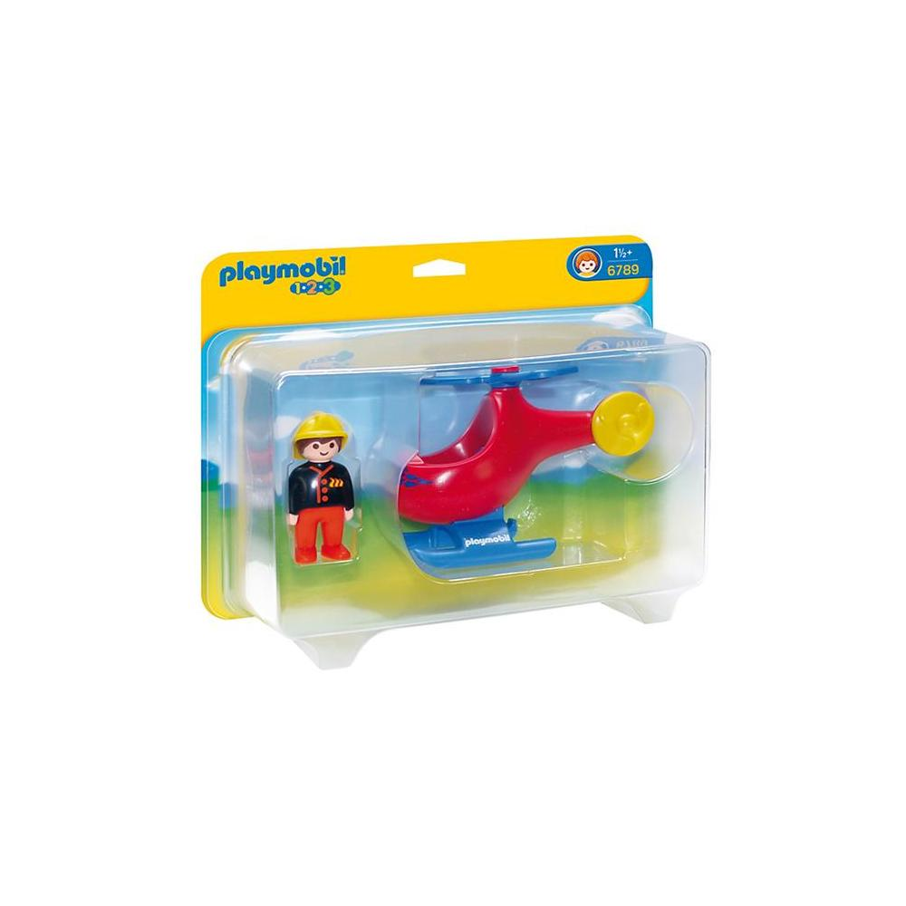 PLAYMOBIL 1-2-3 HELİKOPTER