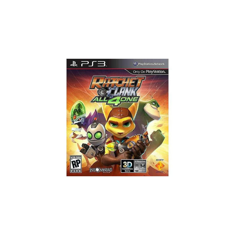 Ratchet & Clank All 4 One PS3 Oyunu