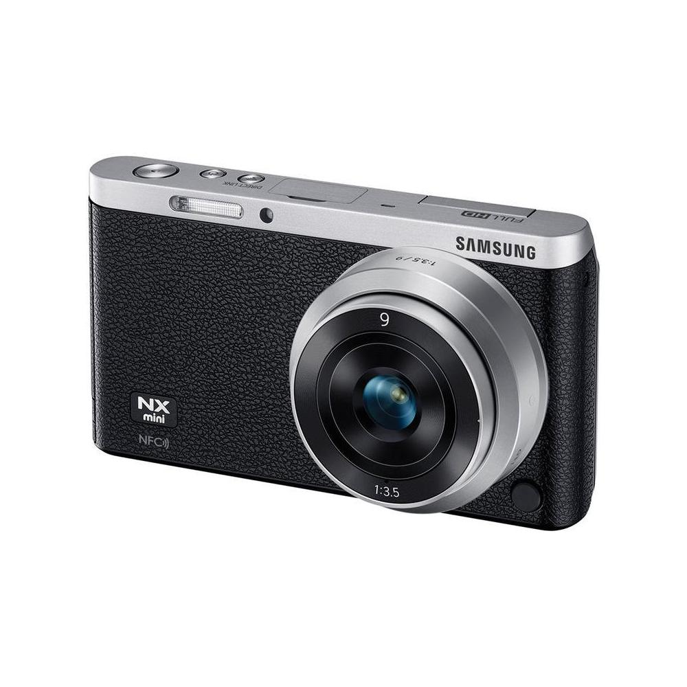 Samsung Smart Camera NX Mini 9mm Siyah Fotoğraf Makinesi