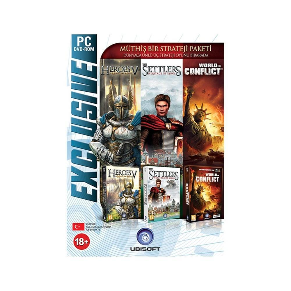 Settlers 5 + Heroes 5 + World In Conflict PC