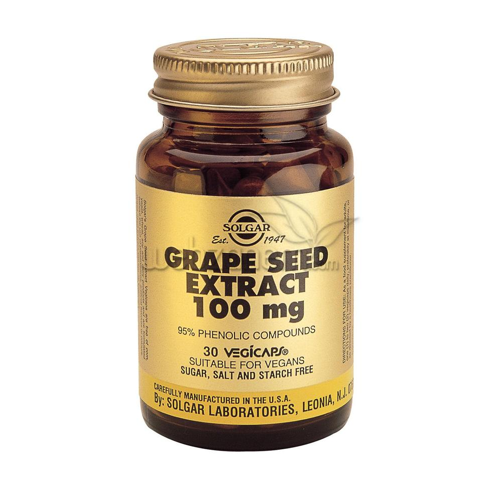 Solgar Grape Seed Extract 100 mg 30 Kapsül