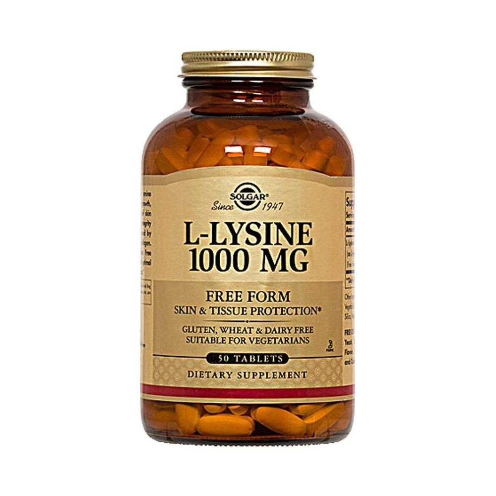 Solgar L-Lysine 1000 mg 50 Tablet