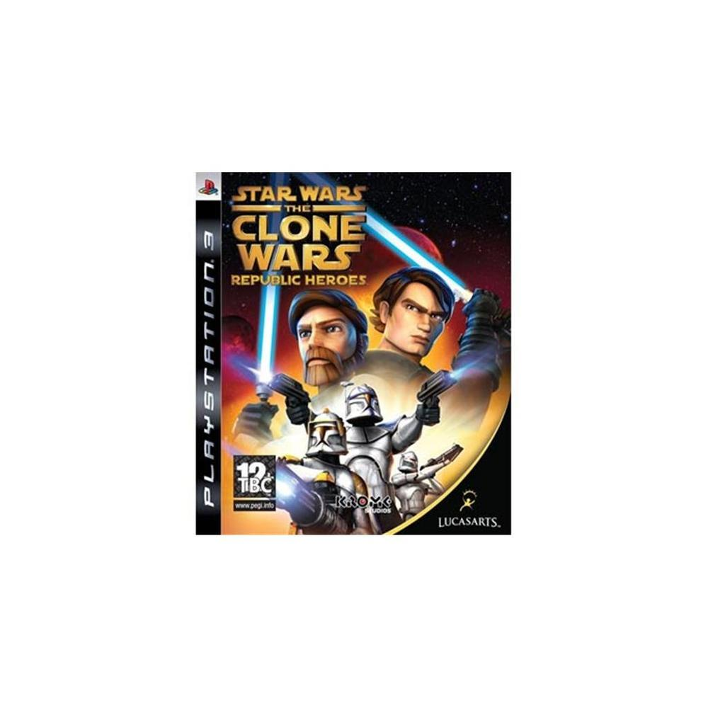 Star Wars Clone Wars Republic Heroes PS3 Oyunu