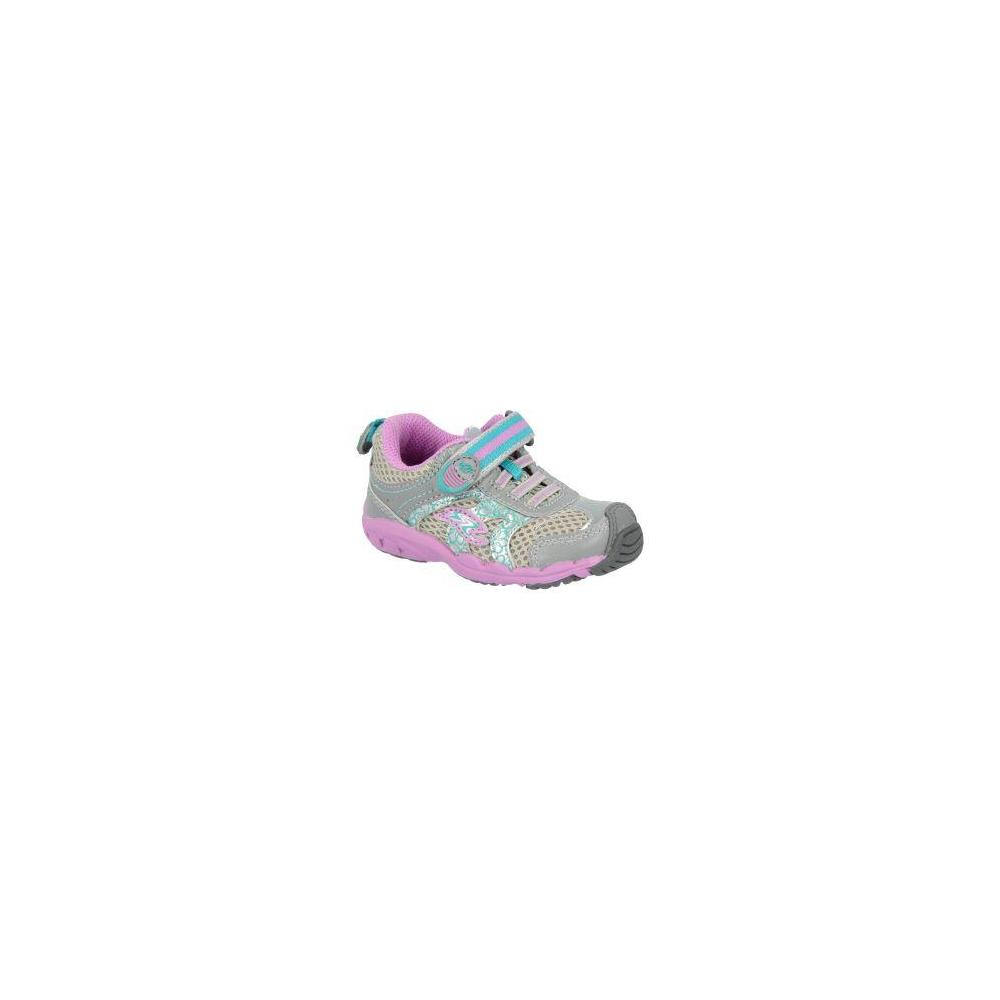 Stride Rite Made 2 Play Baby Sterling Grey-Turquoise-Purple