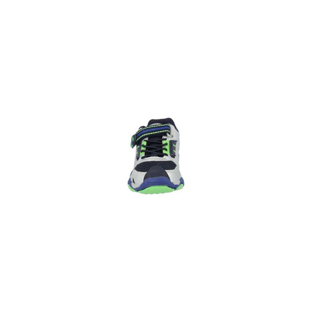Stride Rite Made 2 Play Thorpe Black-Silver-Royal