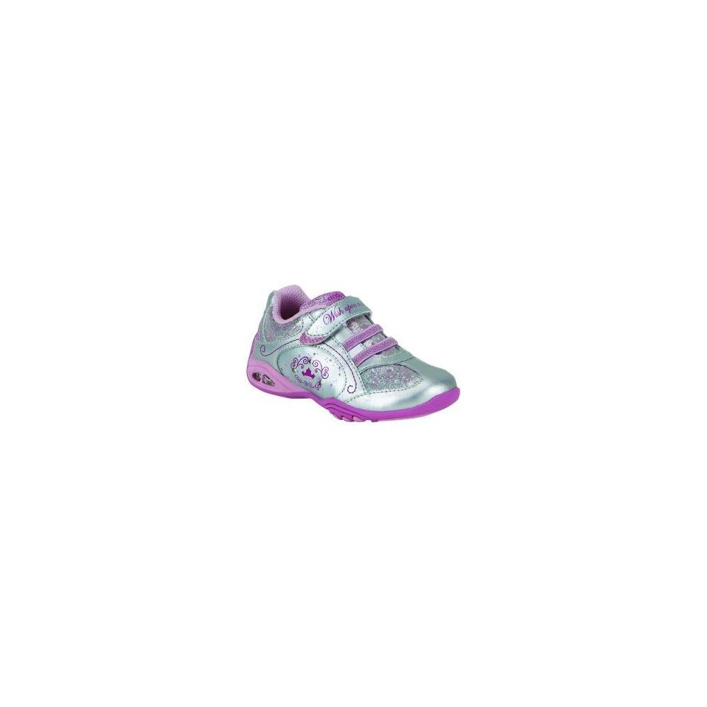 Stride Rite Sleeping Beauty A/C Silver-Pink