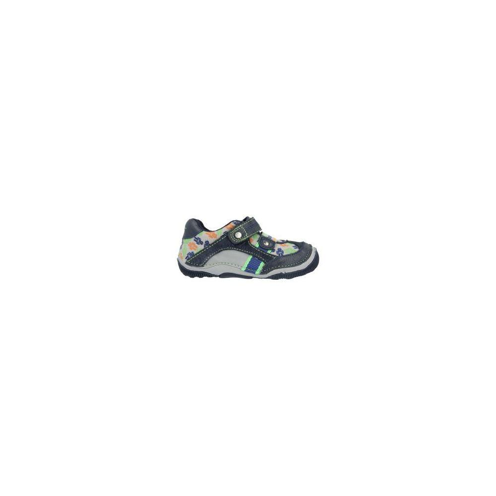 Stride Rite SRT Paul Navy-Silver-Orange