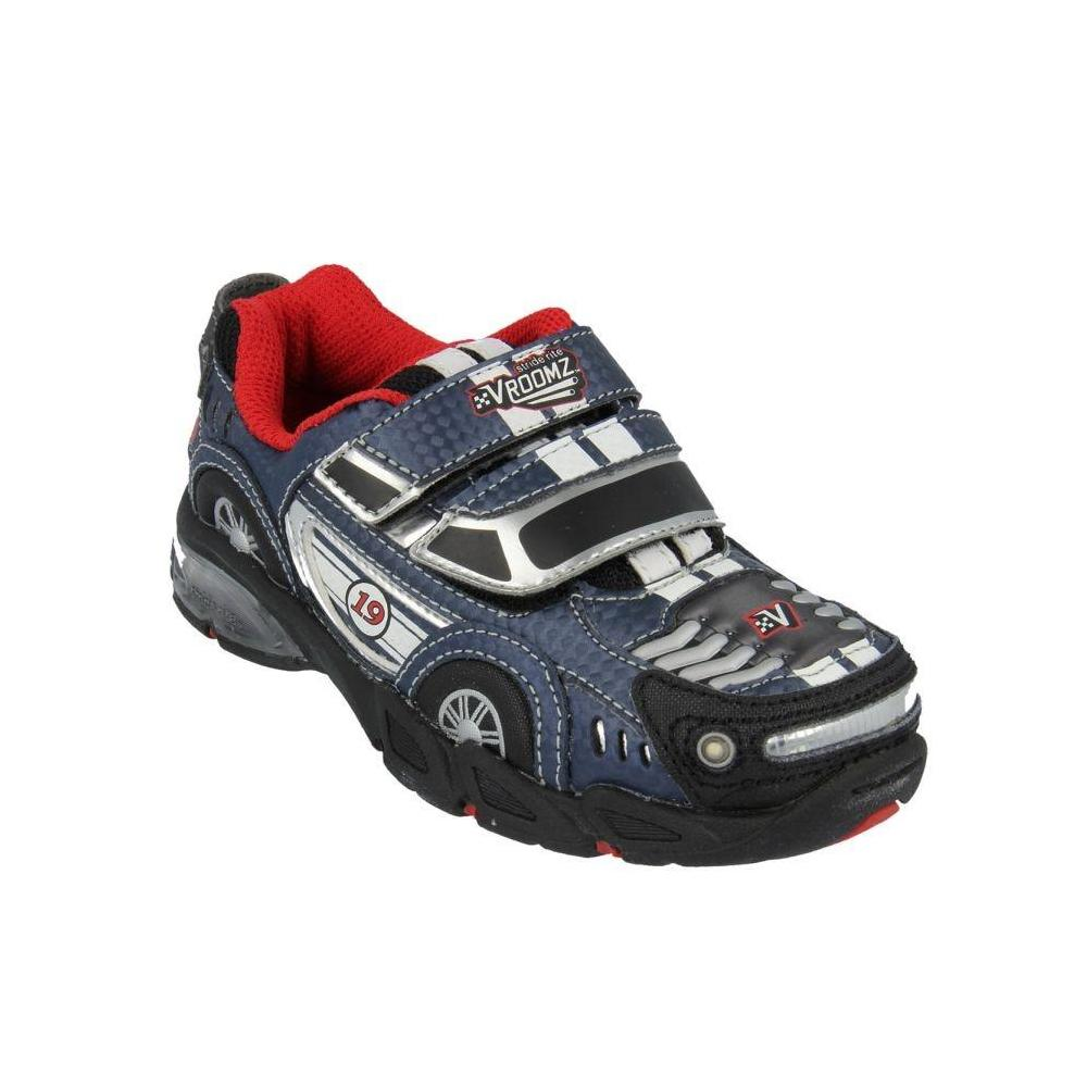 Stride Rite Vroomz Muscle Car Navy-Black