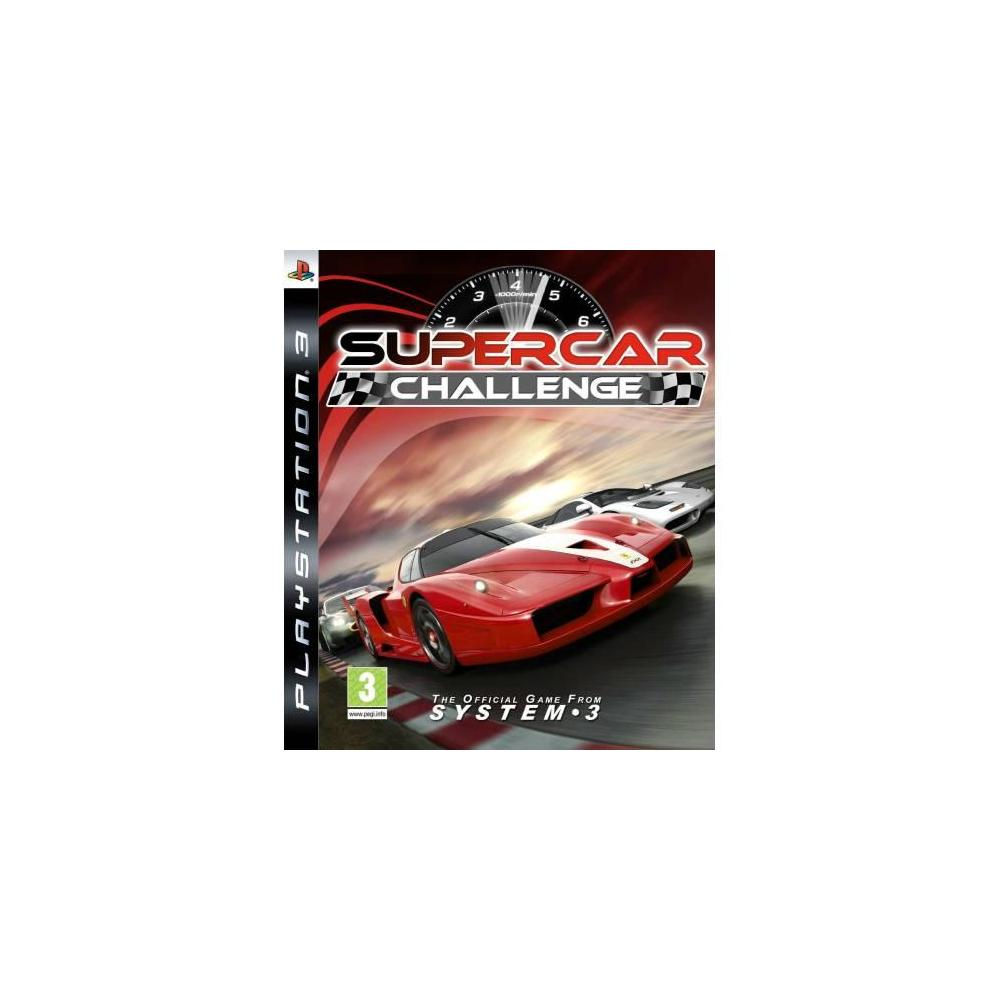 Supercar Challenge PS3 Oyunu