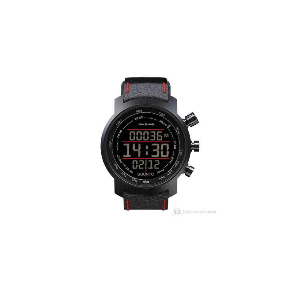 Suunto Terra N Black Red Leather Elementum Spor Saat