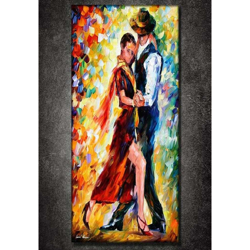 Tabloshop Argentino Tango III Kanvas Tablo