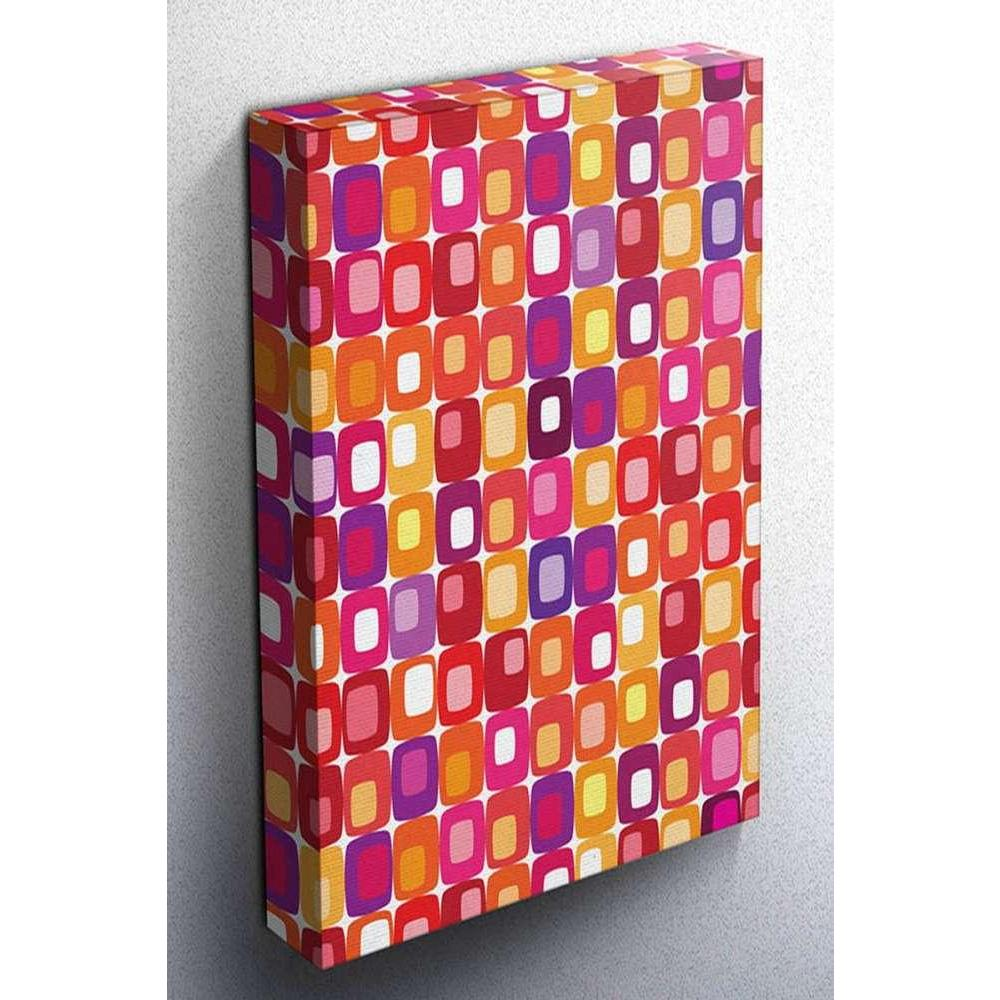 Tabloshop Colored Squares II Kanvas Tablo