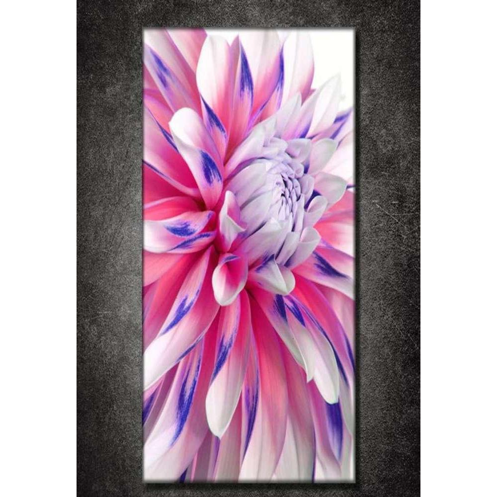 Tabloshop Multicoloured Dahlia Kanvas Tablo