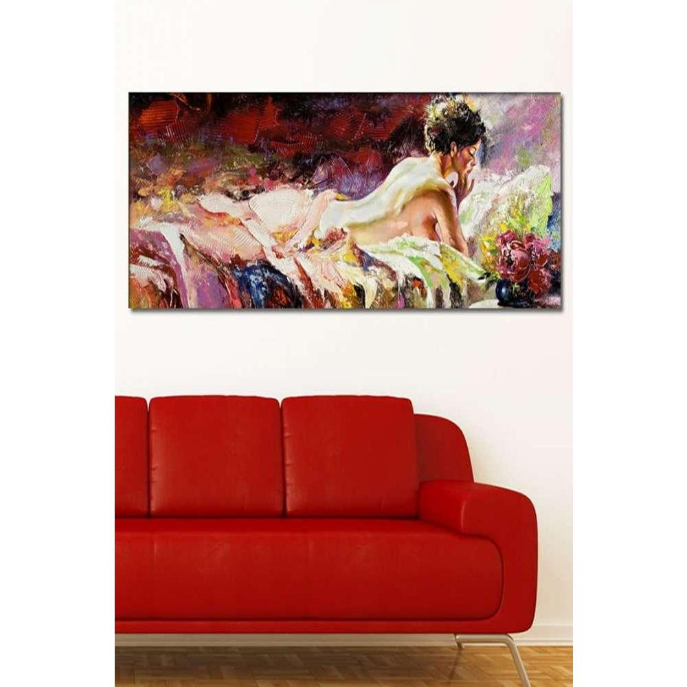 Tabloshop Naked Girl Panorama Kanvas Tablo