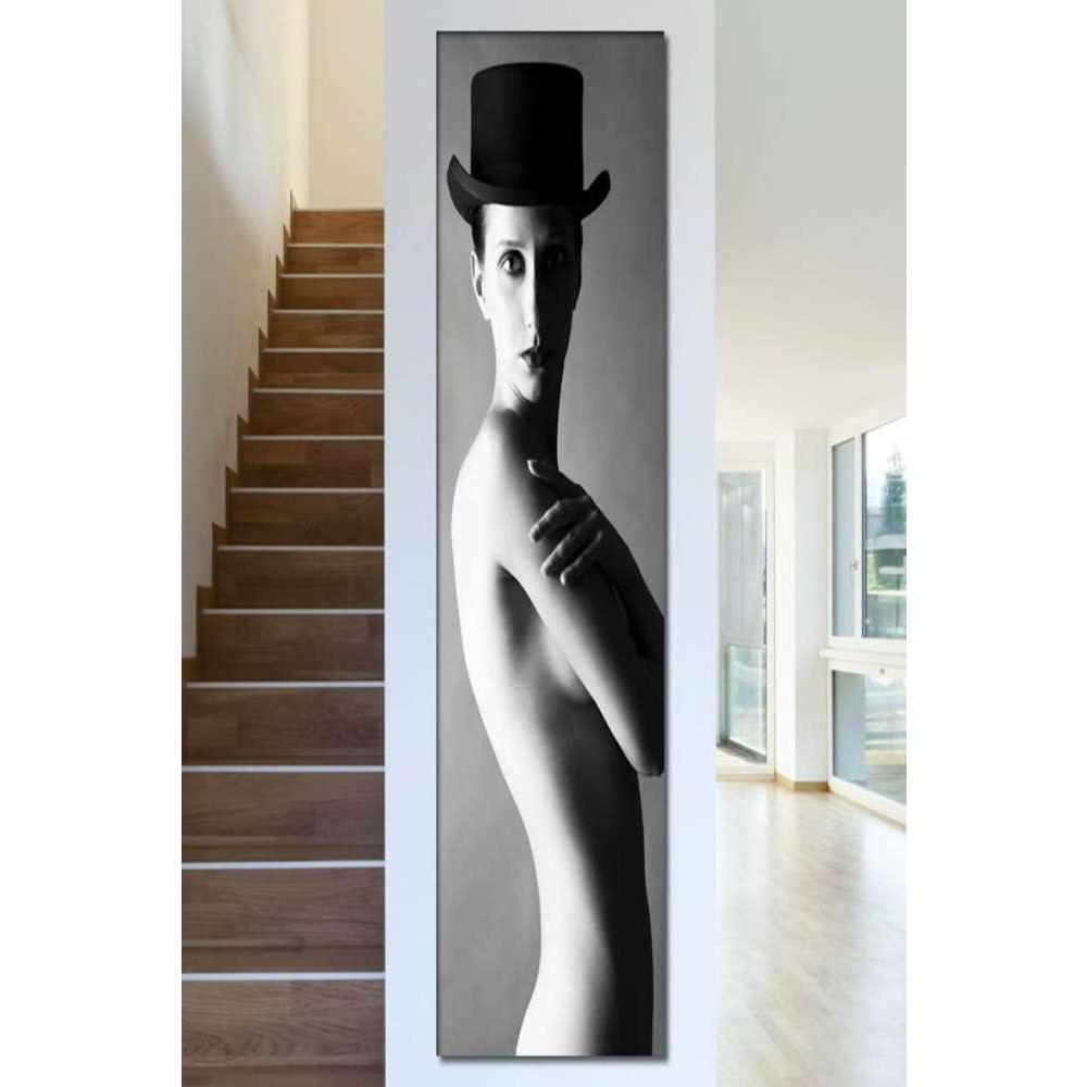 Tabloshop Naked Lady With Hat Kanvas Tablo
